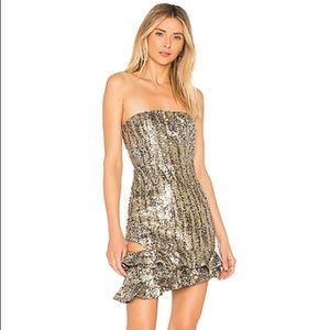 NEW X by NBD X REVOLVE Yessy Sequin Dress